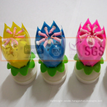 SGS Approved Opening Flower Candle
