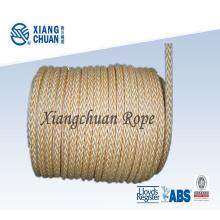 Corde d'amarrage en nylon 12 torons approuvée Lr