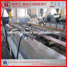 Bois en bois wpc decking / clôture / panneau mural profil machine de fabrication wpc profile machine