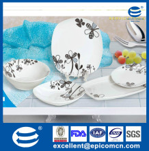 fine new bone china, royal bone china dinner set, bone china dinner plate 20pcs set for 6 person daily use