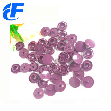 Plastic snap button for baby garments T3/T5/T8