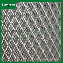 factory price plastic-spray coated diamond aluminum expanded metal mesh for consruction or decoration