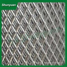 Preço de fábrica plástico-spray revestido diamante alumínio malha de metal expandido para consruction ou decoração