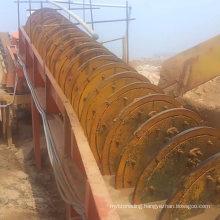 High Efficiency Screw Sand Stone Washing Machine