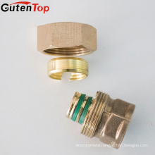 GutenTop High Quality Brass compression pex pipe fittings, brass hydraulic hose fitting