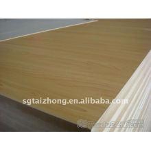 Panneau de mélamine mdf haute densité pour meubles