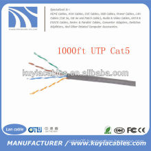 Beige 1000FT Cat5e UTP cable