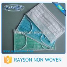 Top Quality Nonwoven Facemask para consumíveis médicos