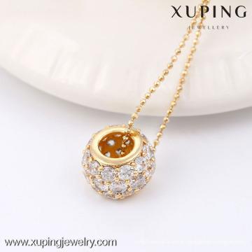 32413-Xuping Fashion Bijoux Pendentif avec plaqué or 18 carats