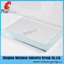 Low Eisen Float Glas / Ultra Clear Float Glas / Extral klar Floatglas