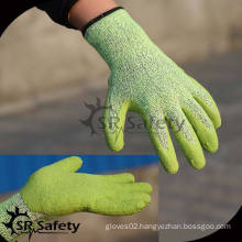 SRSAFETY winter use style,german latex foam gloves