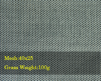 plastic insect net mesh 40x25 100g