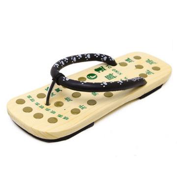 masseur acupoint en bois japon pied pantoufle