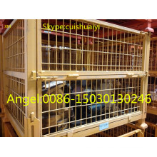 Apilable y plegable Heavy Duty Wire Mesh Container / Wire Mesh Basket