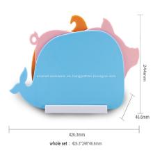Conjunto de tabla de cortar colorida Esteras de tabla de cortar