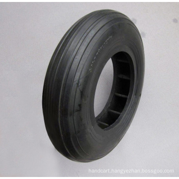 4.00-8 High Quality Wheel Barrow Rubber Solid Tire