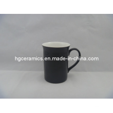 Taza del cambio del color de China del hueso 10oz, brillante