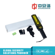 Rechargeable Battery Handheld Metal Detectors Vibratory Alarm Portable Metal Detectors