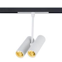 Magnetischer LED-Scheinwerfer mit Doppelkopfschiene