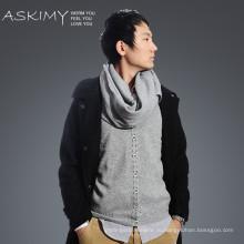 Горячие продажи Новый стиль моды мужчин полосатый шарф вязания