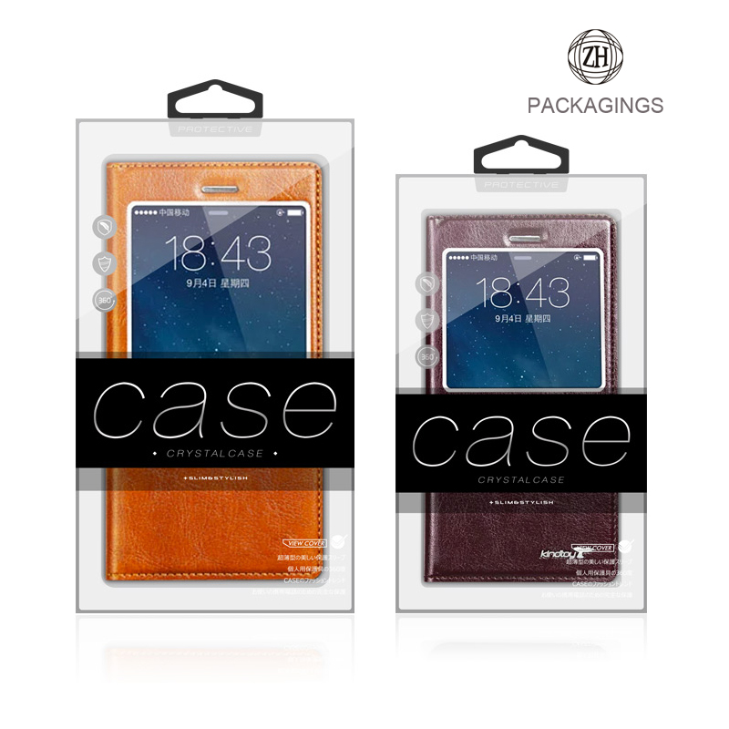 IPhone leather case cover packaging