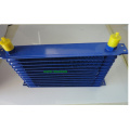 13 Row Blue An10 Transmissão Cooler Racing Oil Cooler radiator