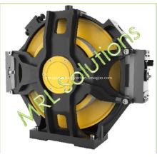 Disc Elevator Gearless Machine Rail Installation