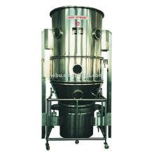 Secador vertical de fluidificación utilizado en productos farmacéuticos