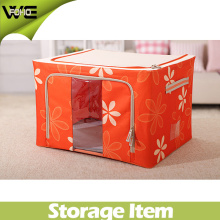 Grande boîte pliable de stockage pliable de tissu de vêtements vivants