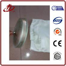 Sac filtrant en fibre de verre / feutre tissé ou aiguilleté