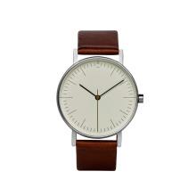 Luxo de aço inoxidável logotipo personalizado japão movt moda genebra relógio