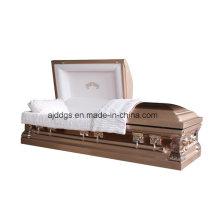 Cuivre avec cercueil brossé cuivre