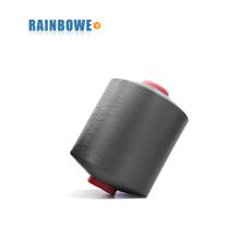 o mais barato China fábrica de venda quente 3075 / 48F poliéster ar coberto spandex fio