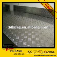 1060 hojas de aluminio con relieve en estuco de alta calidad - serie 1,3,5
