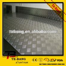 1060 feuilles en aluminium estampées en stuc de haute qualité - série 1,3,5