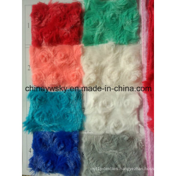Fashionable China Manufactorer Polyester Spun PV Plush Fleece