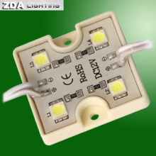 4LEDs Square SMD5050 LED Module Light