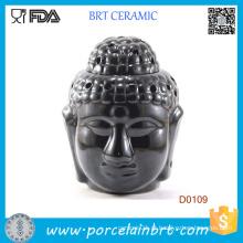 Queimador de óleo essencial da vela da aromaterapia do budismo de India
