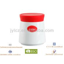 recipiente pequeño con tapa de silicona