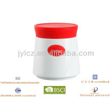 small canister with silicone lid