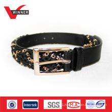 2014 Fashion accessories women metalic chain belts