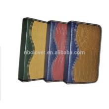 96pcs CD sostenedor de cuero de la PU de la tela del sostenedor cd / bolso cd / sostenedor cd