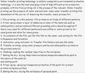 Water Transfer Printing Machine