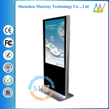 Android 3G WIFI Network 42 inch floor standing advertising display
