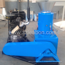 Machine de fabrication de pastilles à moteur diesel 22HP à usage domestique