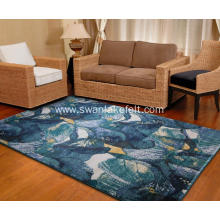 Design non-slip polyester fiber eco friendly carpet mat