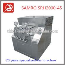 cream homogenizer machine