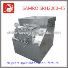 cream homogenizer machine