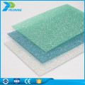 Plastic materials 10mm polycarbonate thickness roofs sheet