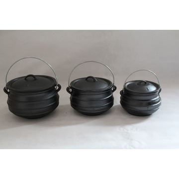South Africa Flat Bottom Potjie Ukuran 3